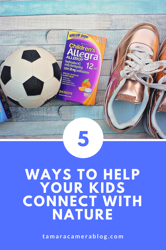 Do your kids love to be outside all day long, like mine? Come spring, summer, fall, and even parts of winter - we are teaching them to connect with nature. Find out how Children's Allegra® Allergy Relief can help! #ad