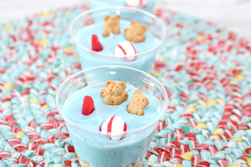 white chocolate pudding cups