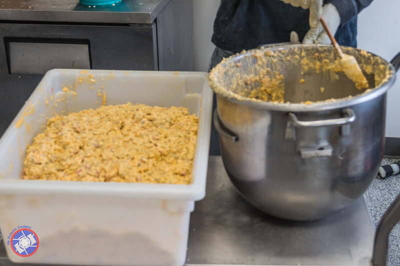A Batch of Freshly Made Pimento Cheese (©simon@myeclecticimages.com)