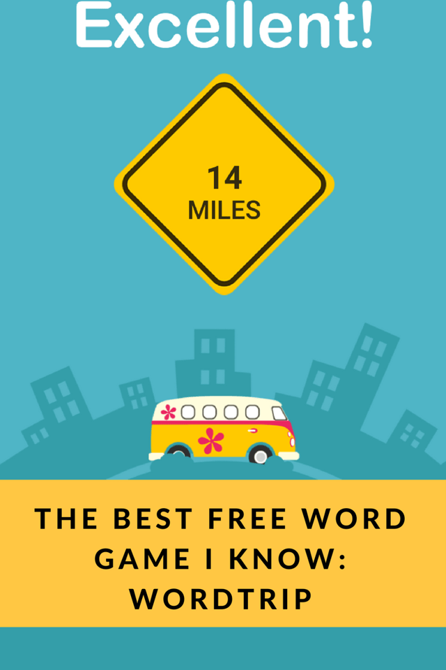 Have you played WordTrip? This is the MOST fun free word game I've ever played. You'll be using your brain for HOURS. You must download this! #WordTrip #adv