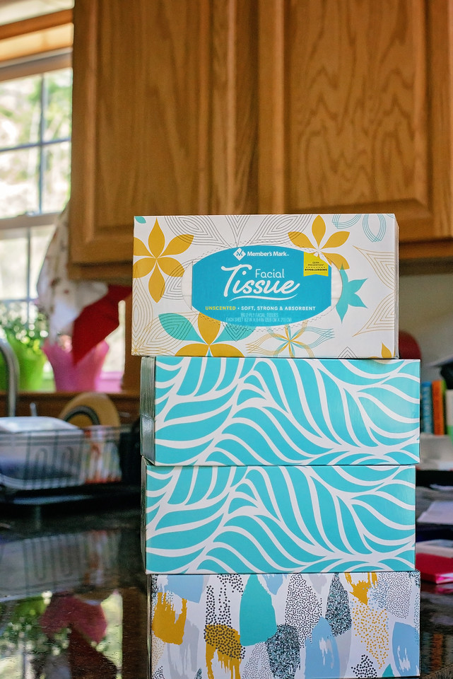 AD Here are 5 items to buy in bulk for a growing family, and why you should! When I was growing up as one of five kids, we were the original club members of Sam's Club. See some of our past and current shopping staples - like Member's Mark Brand 2-ply Facial Tissue.