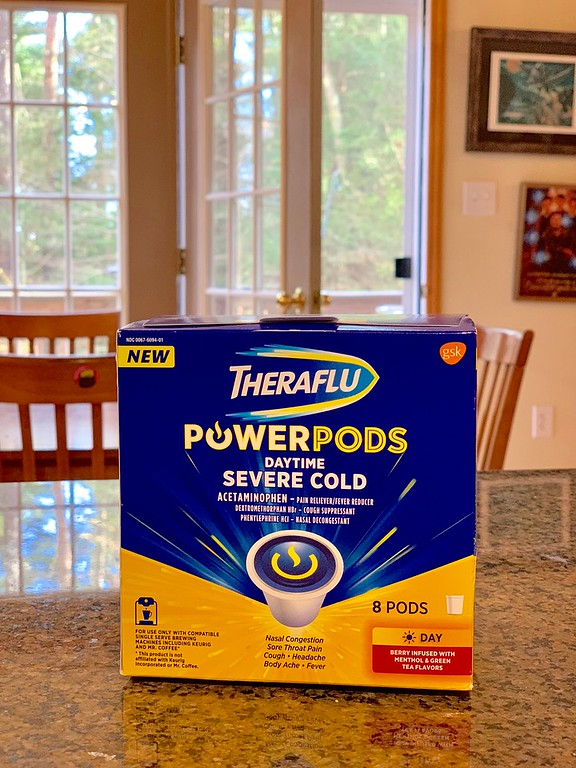 #ad How do we fight cold and flu symptoms? Theraflu PowerPods - powerful OTC medicine to shorten and reduce the symptoms of cold and flu. #TherafluatWalmart #DoSickDifferently