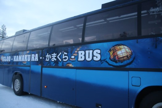 bus from ivalo to kakslauttanen