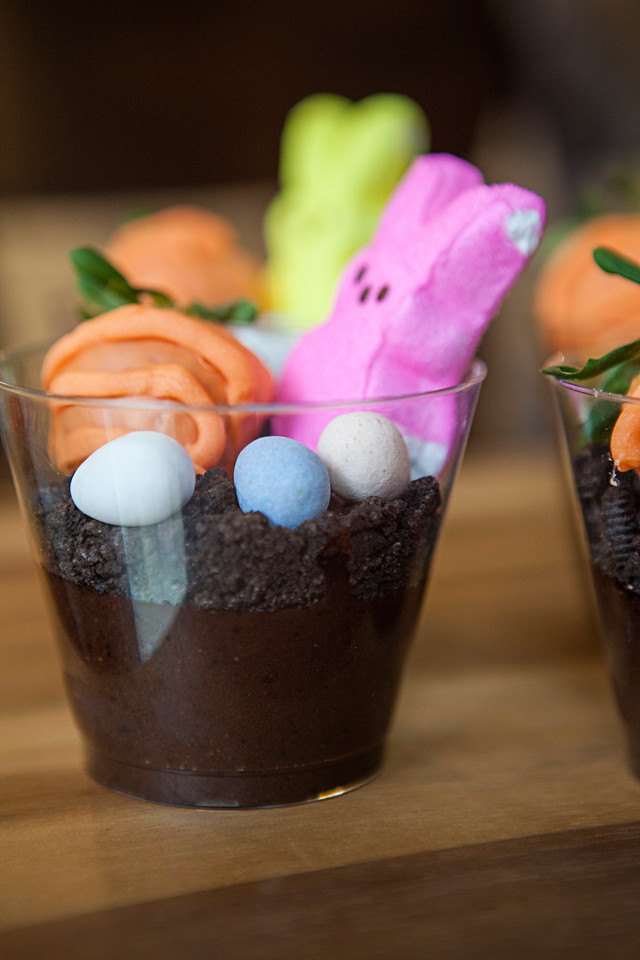 These Easter Pudding Cups Easter Treats are pretty much as adorable and as fun as it gets. And they're easy to make! Make them with your kids, or maybe have the Easter Bunny leave them! The sky is the limit with Easter fun.
