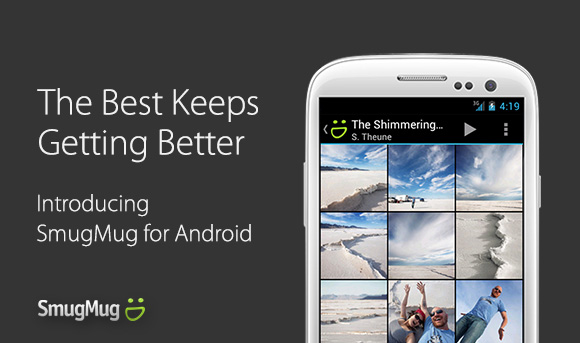 SmugMug for Android for photo sharing