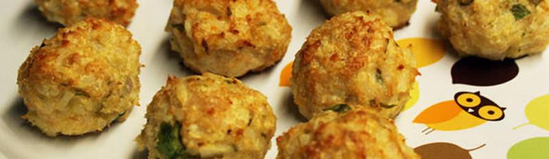 Chicken Rice Meatballs