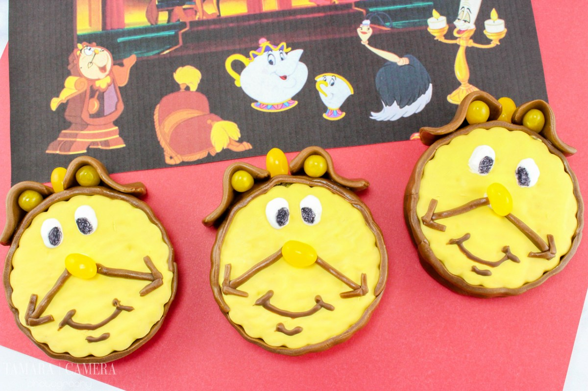 Beauty and the Beast Cogsworth Treats