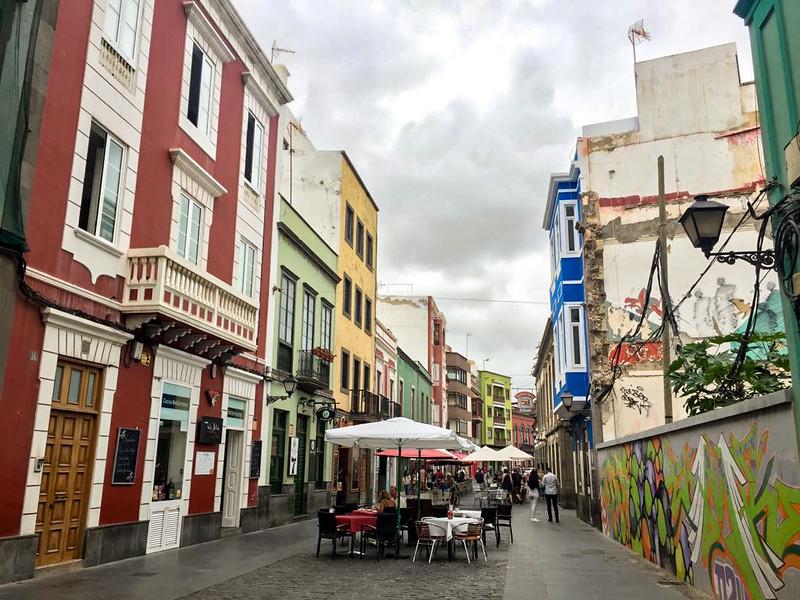 5 Weeks in Las Palmas - street view