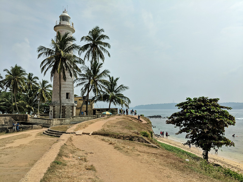 Affordable Beach Destination - Galle Fort outer wall
