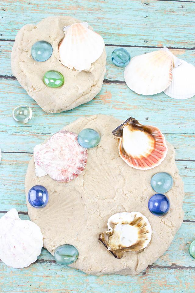 Beach Sand Play Dough