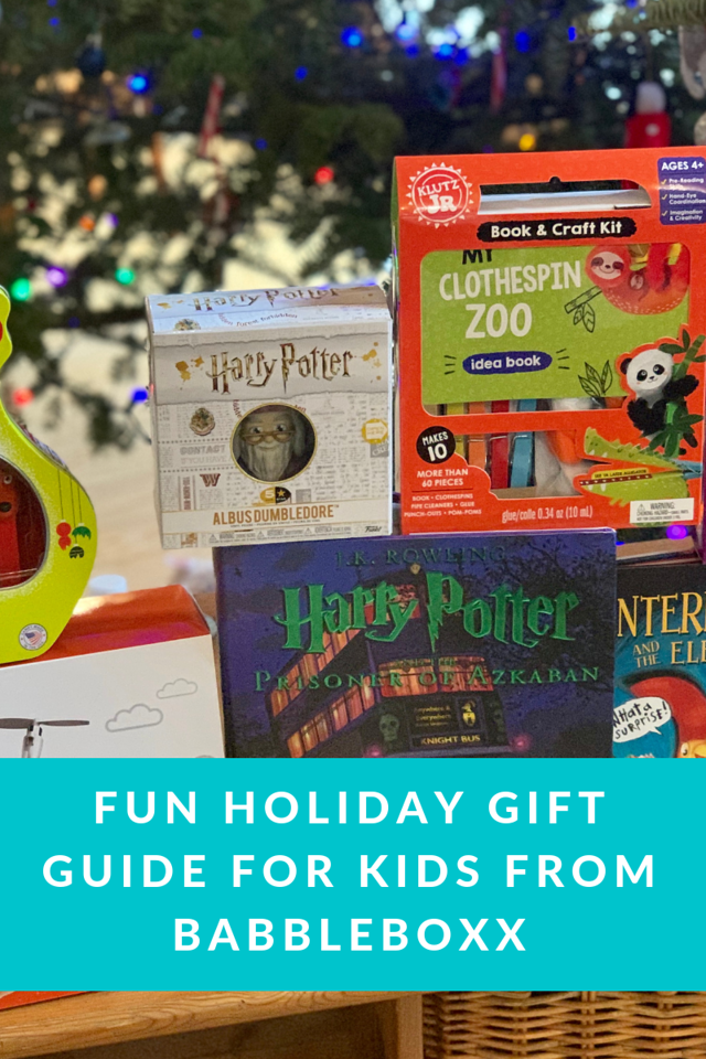 How fun is this? Do you still have kids on your holiday shopping list? Read all about our tried and true Fun Holiday Gift Guide for Kid! #ad #KidsGiftsBboxx