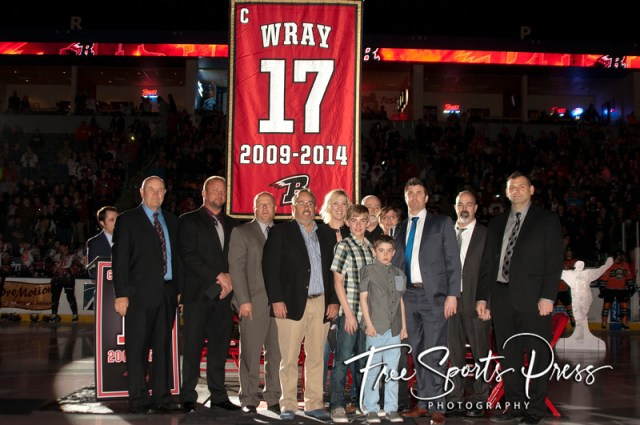 Scott Wray Jersey Retirement (04/04/2015)