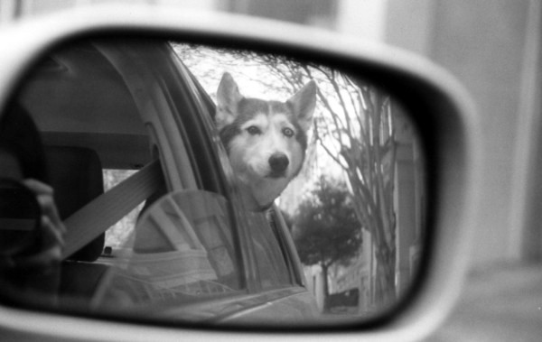 in hindsight rearview mirror
