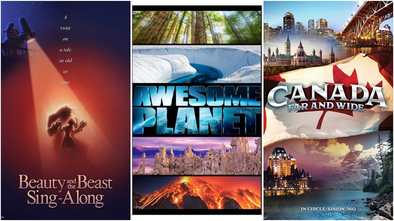 epcot movie posters