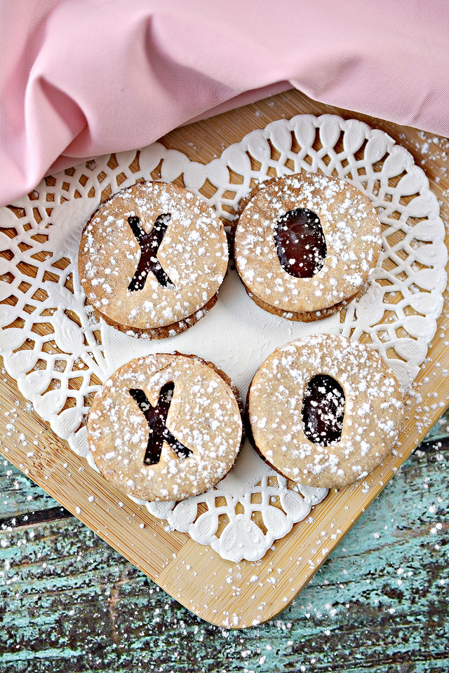 These Valentine Cut Out Cookies are so unique and so delicious, that you simply have to make them for a Valentine's Day party, or as a gift for a loved one!