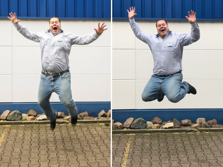Motion Blur vs. sharp photos