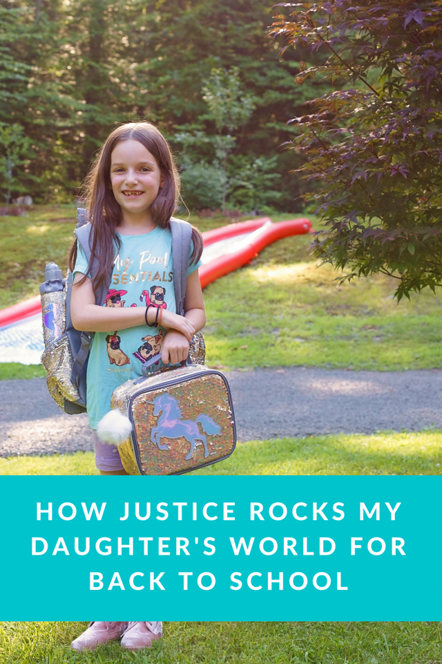 That feeling when you get a big box of amazing Justice back to school goodies for your kid! See what you need this season! #ad #LiveJusticeBTS #LiveJustice