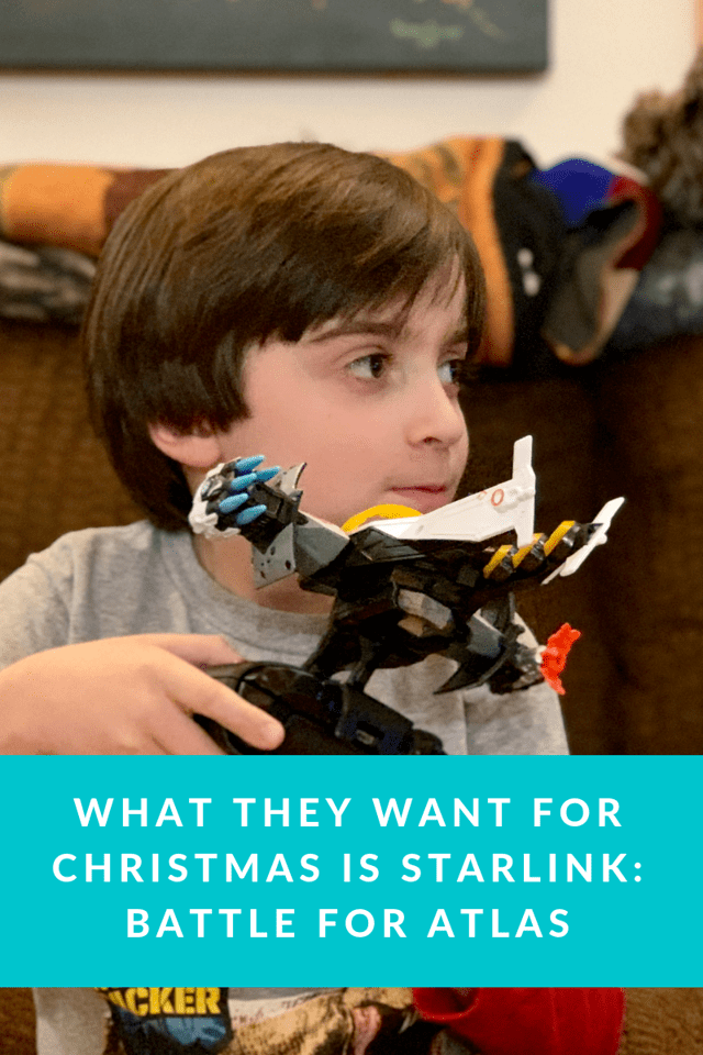 StarLink: Battle For Atlas is SO cool! Available on Nintendo Switch, PlayStation 4, & Xbox One and is the perfect Christmas gift this year #ad #StarLinkGame