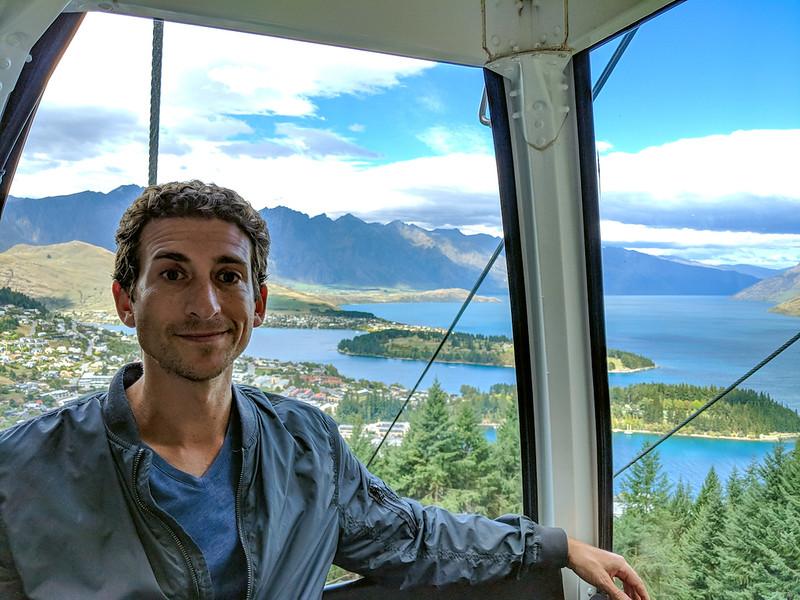 8 Day New Zealand Road Trip - Skyline Queenstown gondola