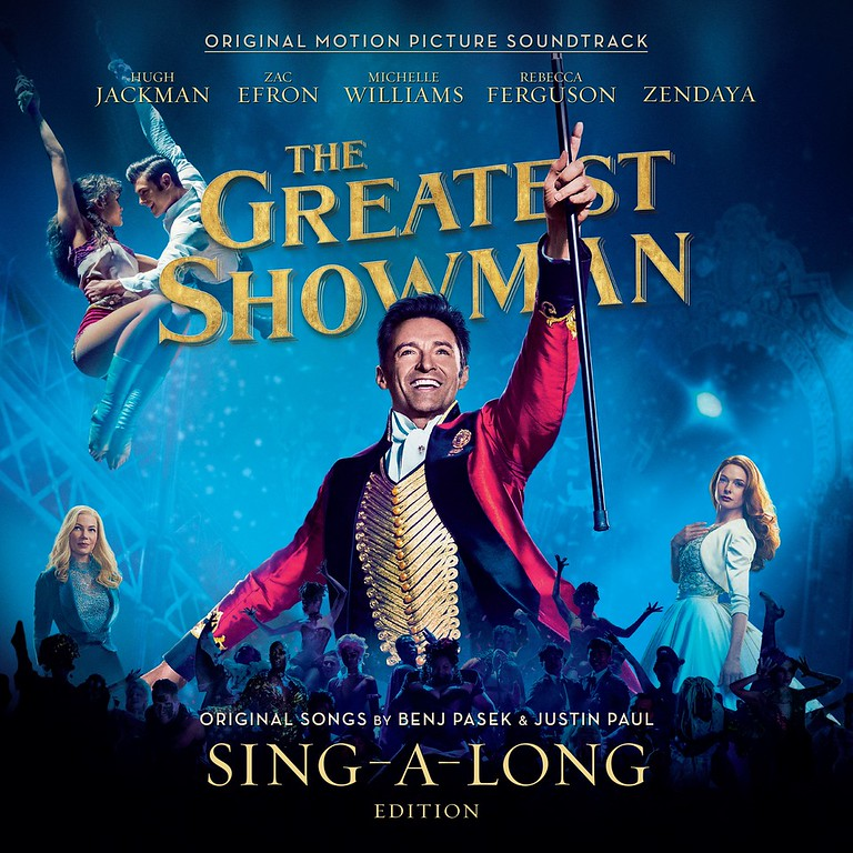 In our house we puffy pink heart LOVE The Greatest Showman Reimagined. See our favorite tracks and our attempt to sing! #ad #TGSsingalong #TGSreimagined #ad