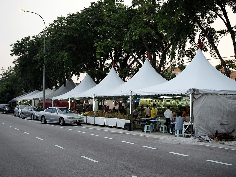 Soon Huat Durian Stall