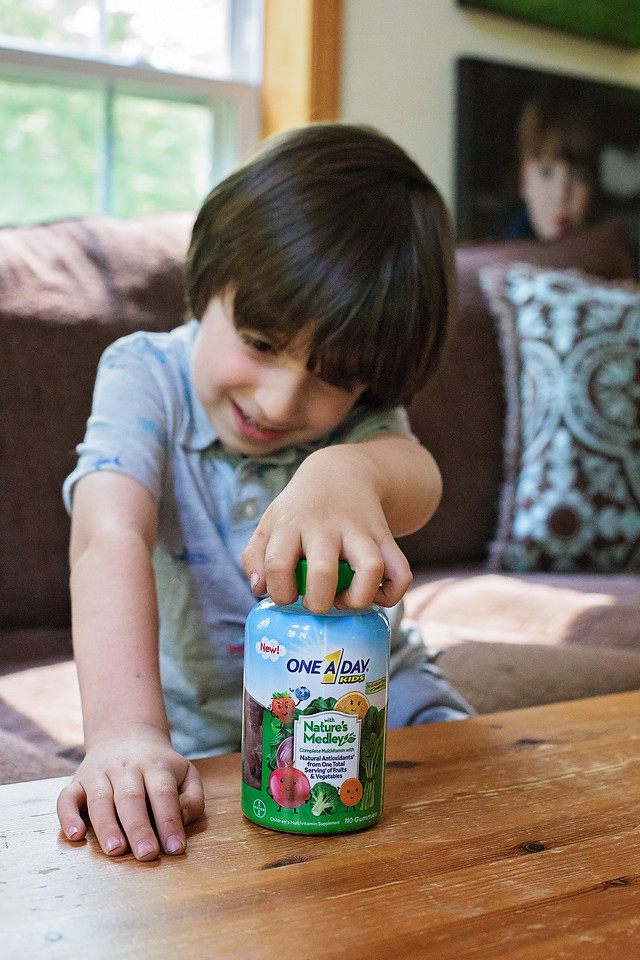 Summer is almost here, and we're looking for ways to grow closer and healthier as a family. The New! One A Day with Nature's Medley makes it easy and delicious to take vitamins together. How are you getting your multivitamins? What do you do as a family to get healthier together in the summer? #ad #OneADay