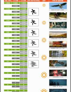 Shutter speed chart infographic also photographer   cheat sheet rh phototraces