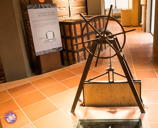 Wheel that was used to control the damper for the kiln (©simon@myeclecticimages.com)