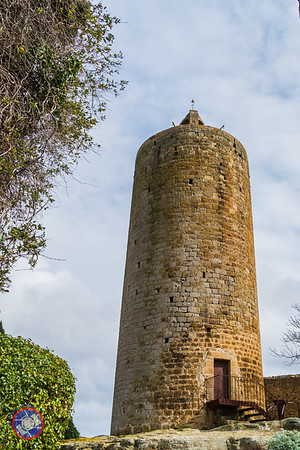 The Bell Tower in Pals (©simon@myeclecticimages.com)