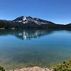 Paulina Peak from the east shore of Paulina Lake