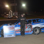 Kevin Weaver made quick order of the field in taking his second Late Model win of the year.