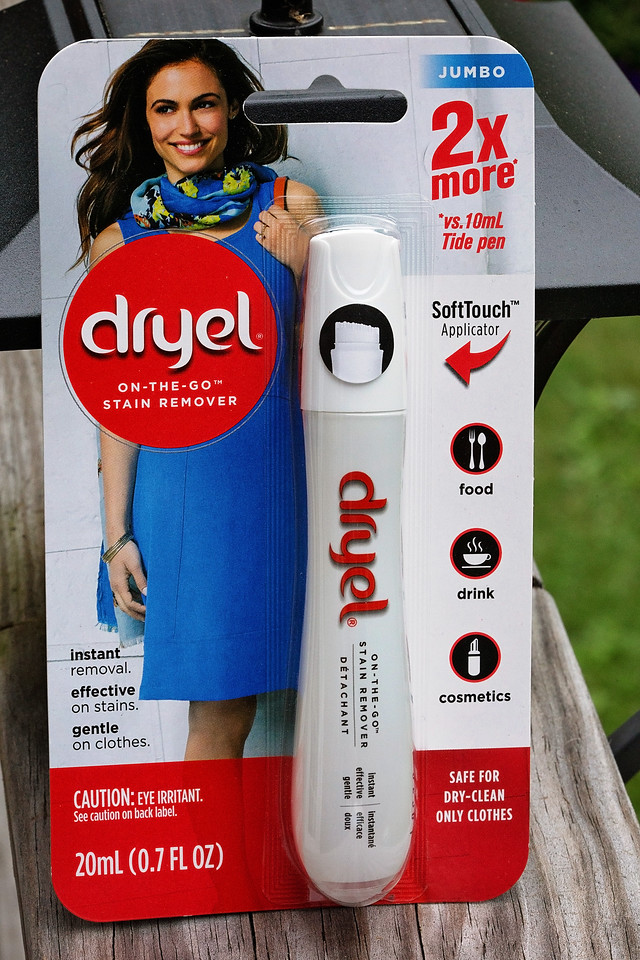 Have you tried the Dryel pen? Dryel saves time and gives you the freedom to wear what you want and when! Now I'm not afraid of spills on my favorite clothes
