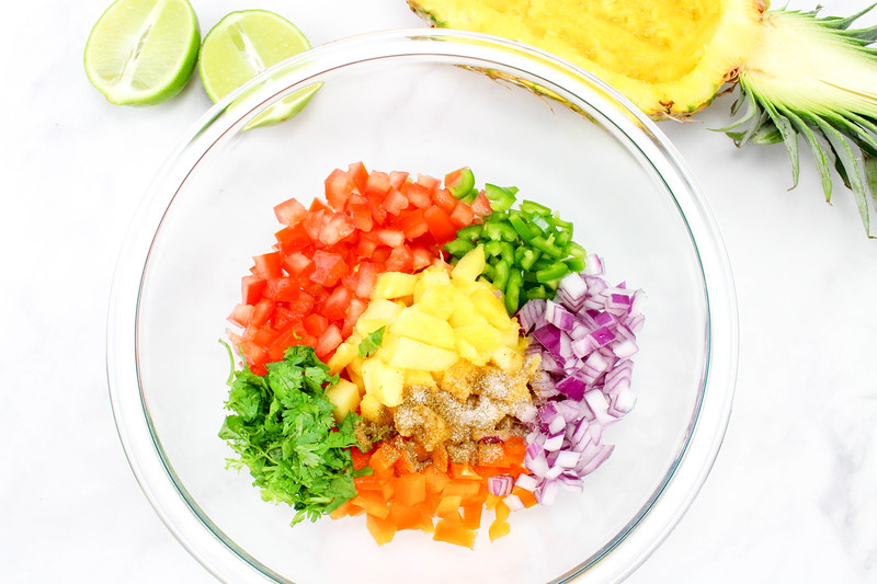 Pineapple Salsa Step 3