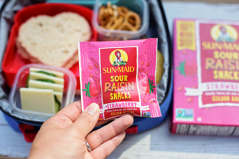 great snacks for school lunch