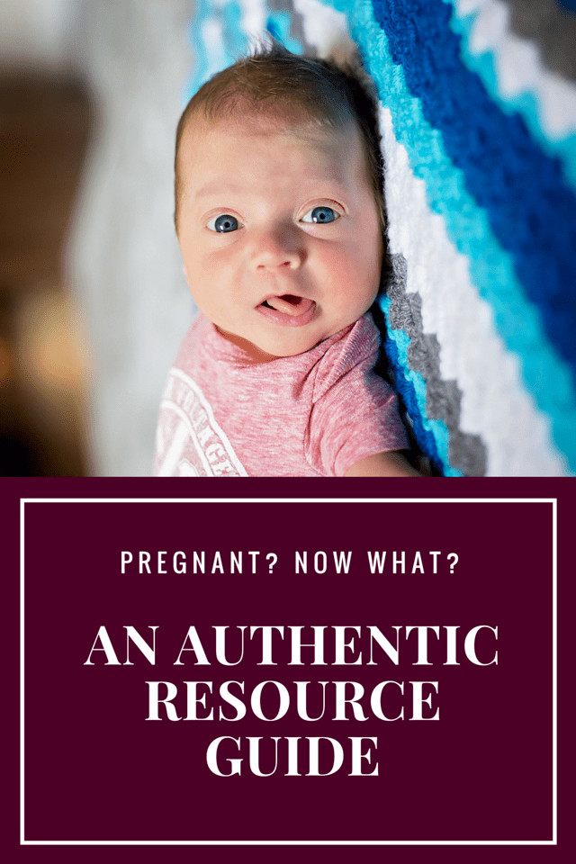 So, you're pregnant? First, congratulations! You may be wondering what's next, right? This informal resource guide is meant to guide you through the journey