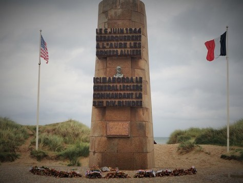 Where French General Leclerc and his 2e Division Blindee landed on 6 June 1944 (Utah Beach)