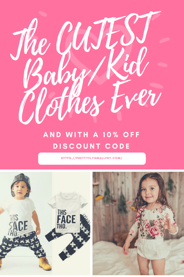 Pretty Fly Small Fry has trendy and affordable clothes for your little ones! They link up with four amazing charitable associations with their profits. Go shopping today, with a 10% off discount: https://prettyflysmallfry.com/discount/TamaraCamera #ad
