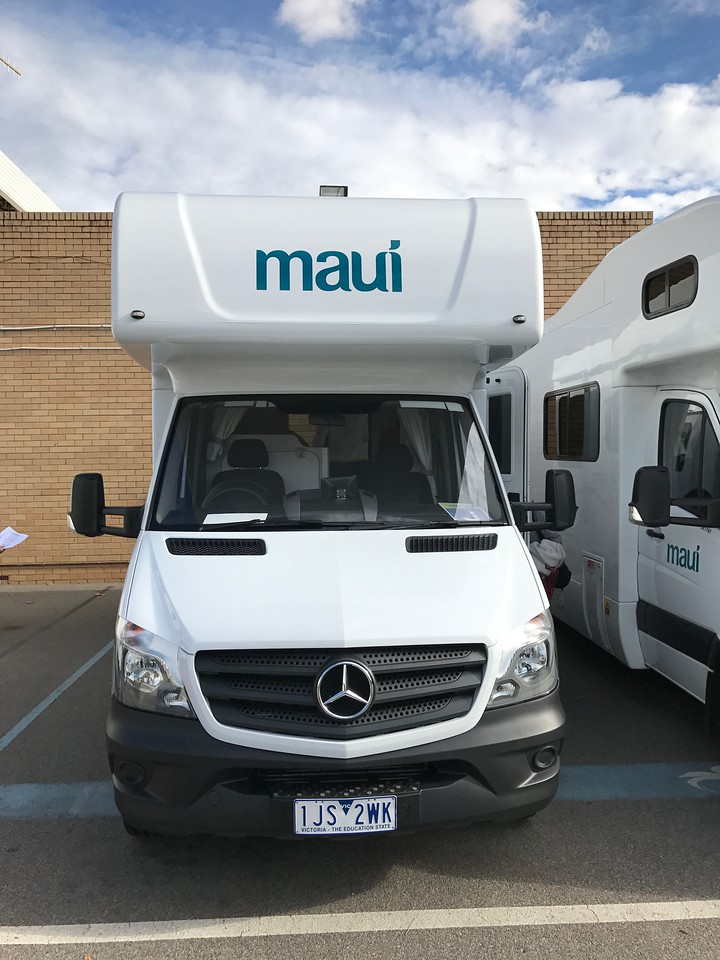 Holiday with a Campervan in Perth