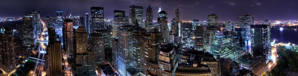 NYC Skyline from Waaaay Downtown