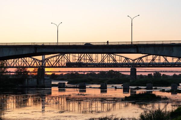 Sunset bridges