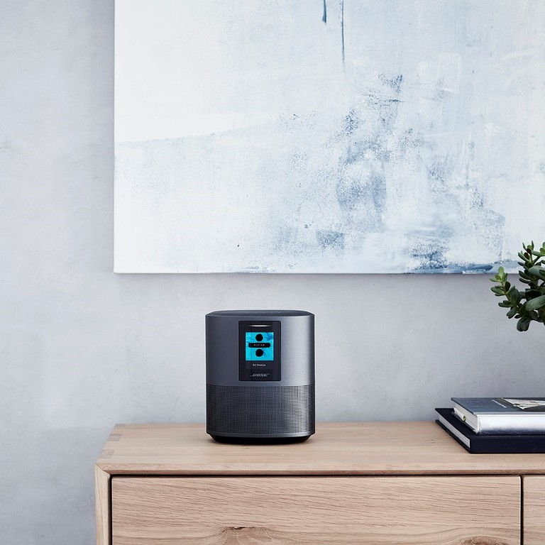 We're a Bose Music family! The new Bose family of smart speakers and soundbars has built-in voice control from Amazon Alexa. #ad #bosesmartspeakersatbestbuy