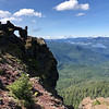 Heading up Iron Mountain