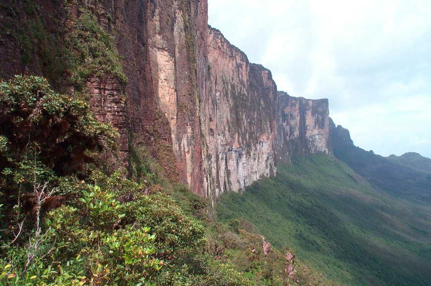 best treks in the world - mount roirama