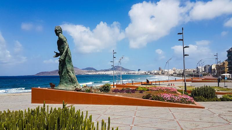 5 Weeks in Las Palmas - La Playa de las Canteras