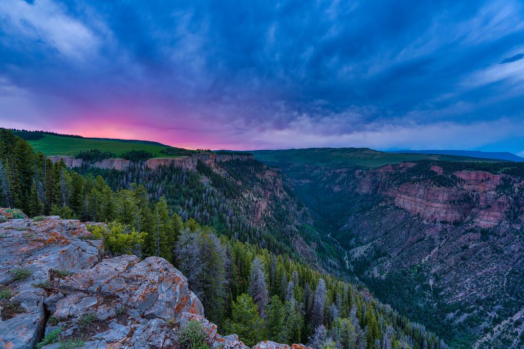 Deep Creek Canyon Flat Tops Glenwood Springs Colorado