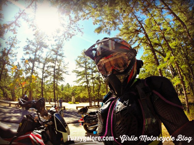 Blog Post: 5 fun facts about motorcycles - Fuzzygalore in dirt bike helmet in new jersey