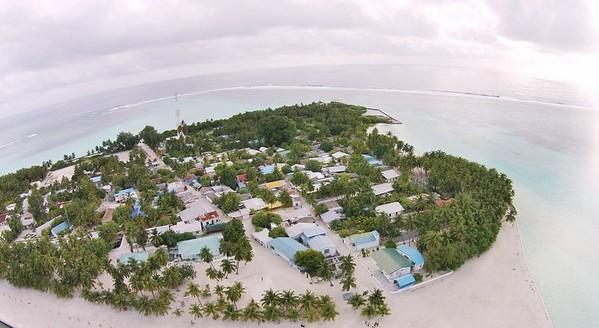 Maldives on a budget - Mathiveri Island