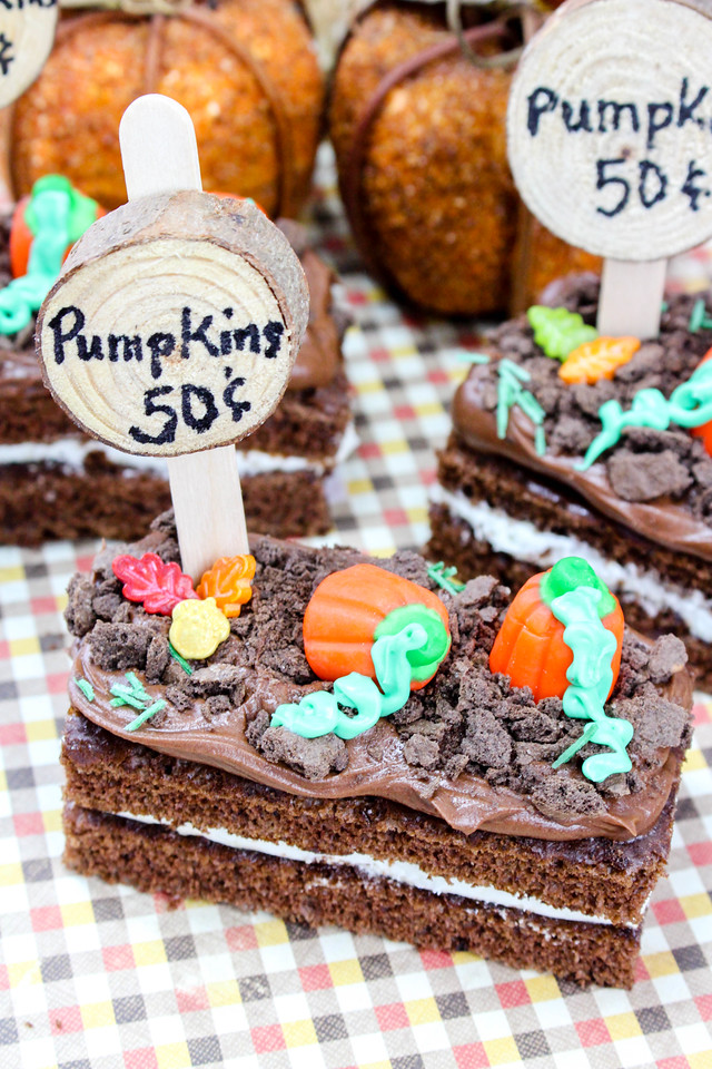 These pumpkin patch treats are PERFECT for your fall gathering or party, or just the perfect kid-friendly treat to make on a crisp autumn weekend. Enjoy #ad