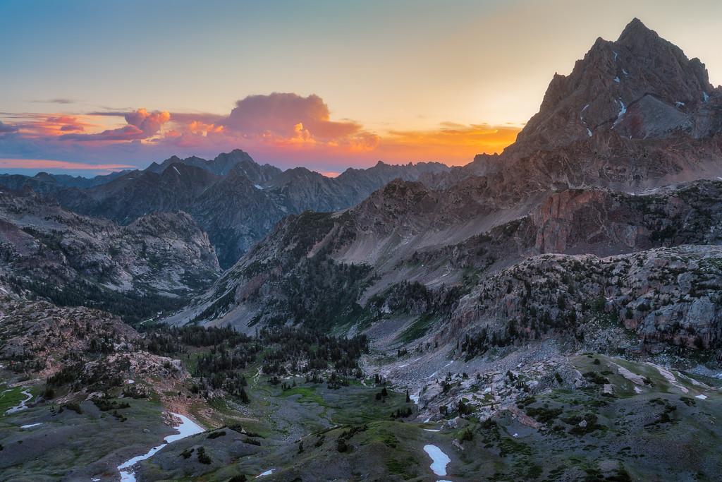 Hurricane Pass Teton Crest Trail Grand Teton National Park Wyoming