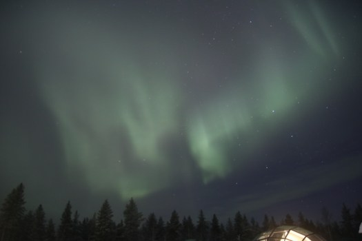 aurora in finnish lapland